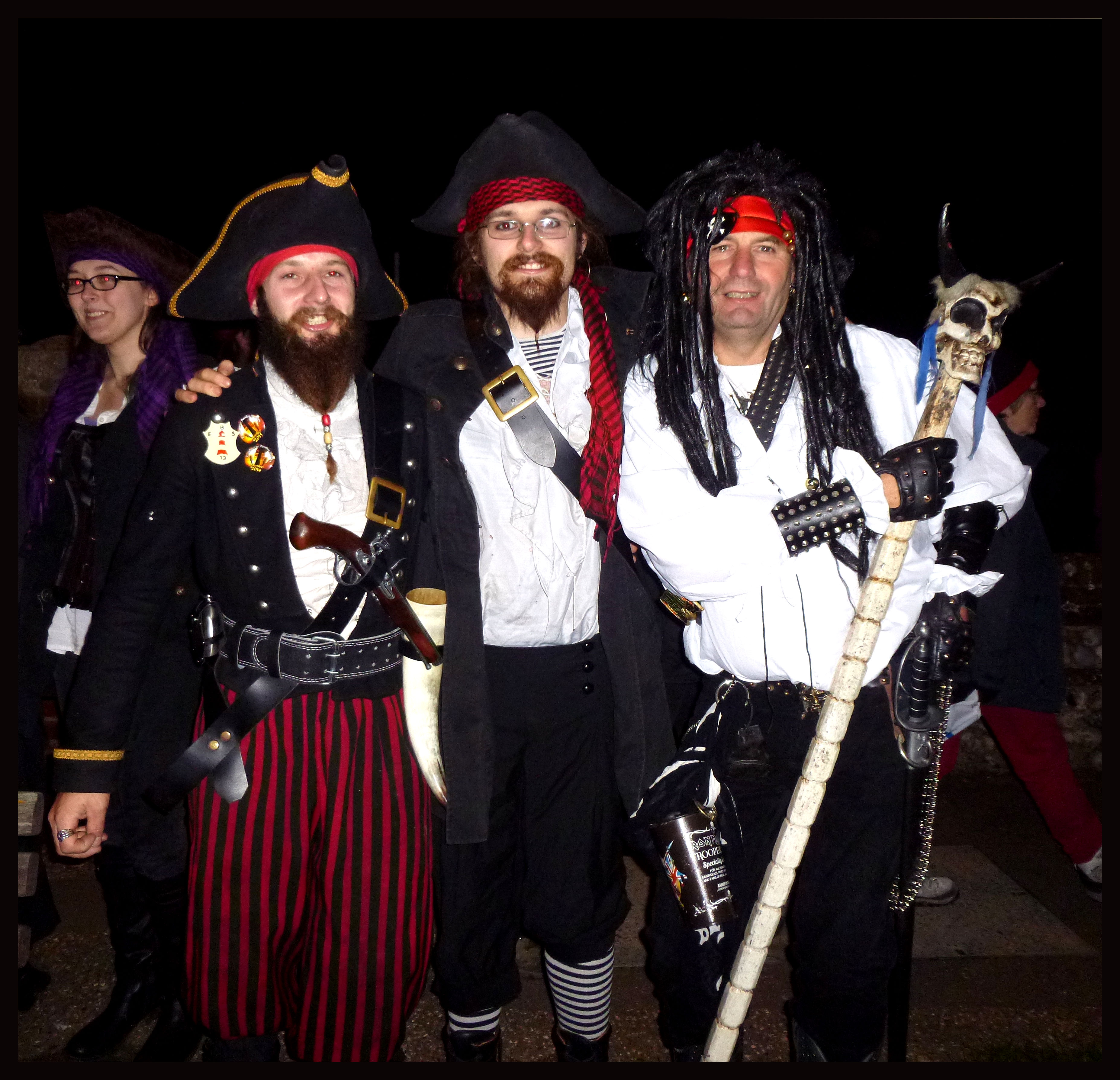 Costumes Eastbourne Bonfire Society